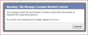 fb calls wipp alert abusive
