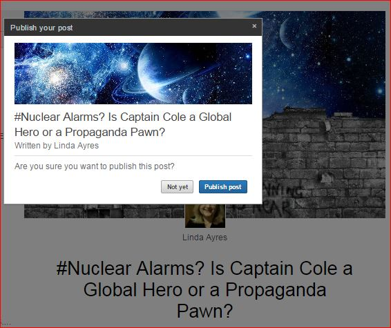 Linked In Nuclear Alarms 3 21 2015