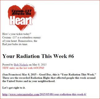 Cesium 137 Attacks the Heart