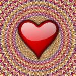 heart vibrating