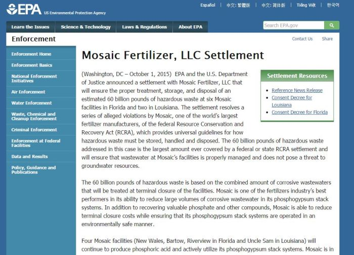 Google it - Mosaic Settlement
