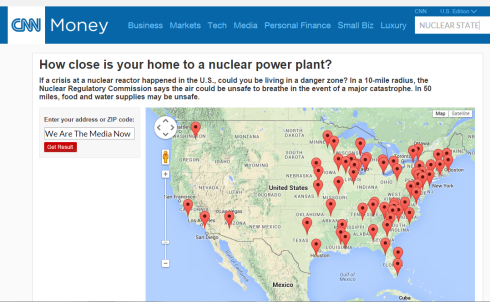 How close is your home to a nuclear power plant?"